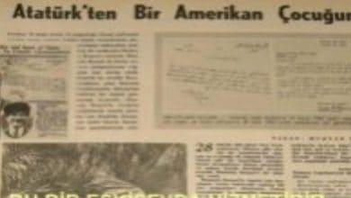 Photo of ATATÜRK'TEN BİR AMERİKAN ÇOCUĞUNA