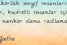 Photo of ŞİİR OKU; NANKÖRÜN GÖZÜ GÖRMEZ